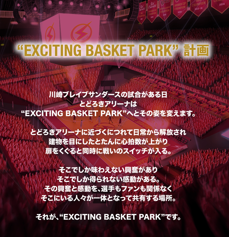 EXCITING BASKET PARK