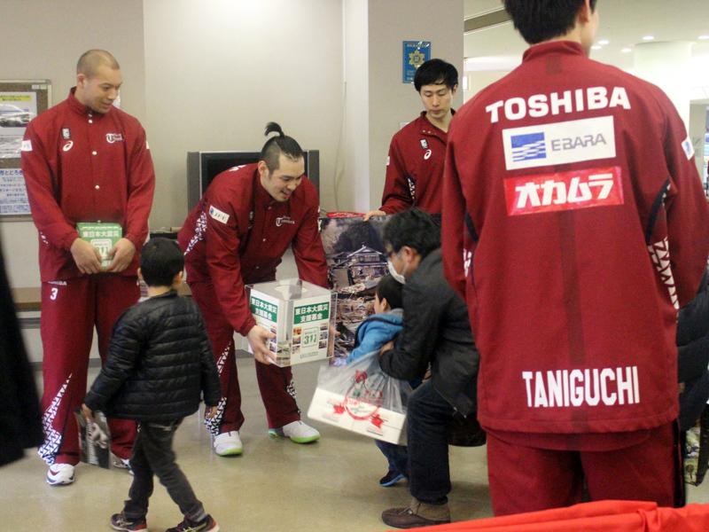 東日本大震災復興支援募金