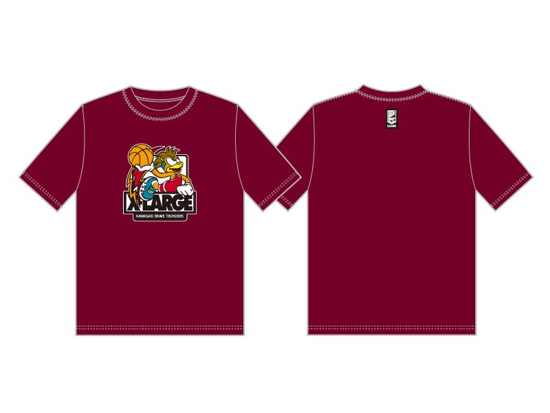 X-LARGEコラボTシャツ