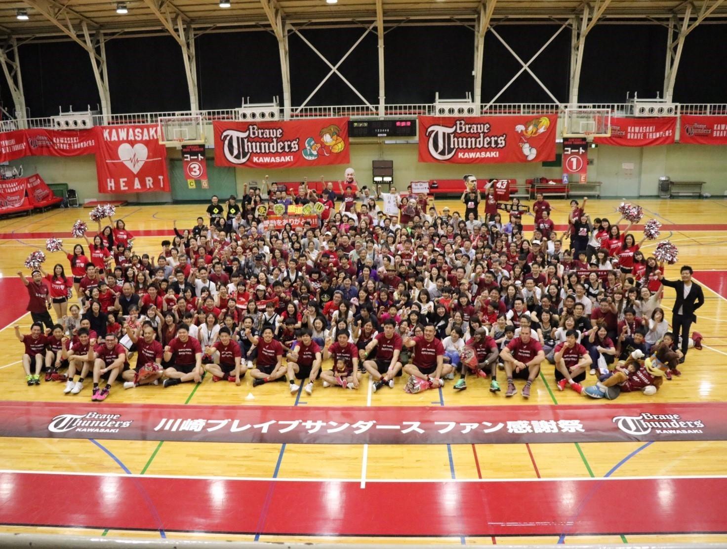 2016-17 川崎ブレイブサンダース ファン感謝祭