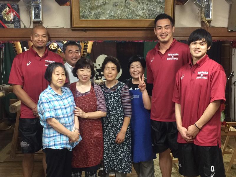 8/5(金) 幸区小向町内会祭礼に3選手が参加してきました