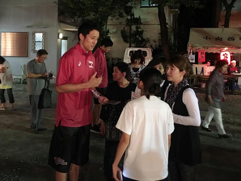 8/6(土) 幸区小向町内会祭礼に4選手が参加してきました
